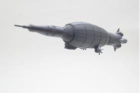 组合式的土星五号运载火箭模型